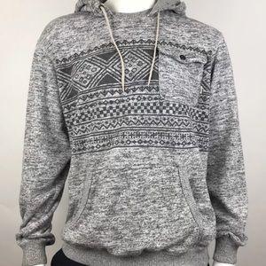 Vans Men's Flurry II Pullover Hoodie Gray XL